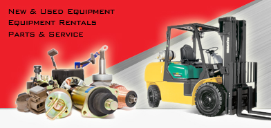 New & Used Forklifts, Material Handling Equipment, Parts, Service, Maintenance &  Rentals, In York PA