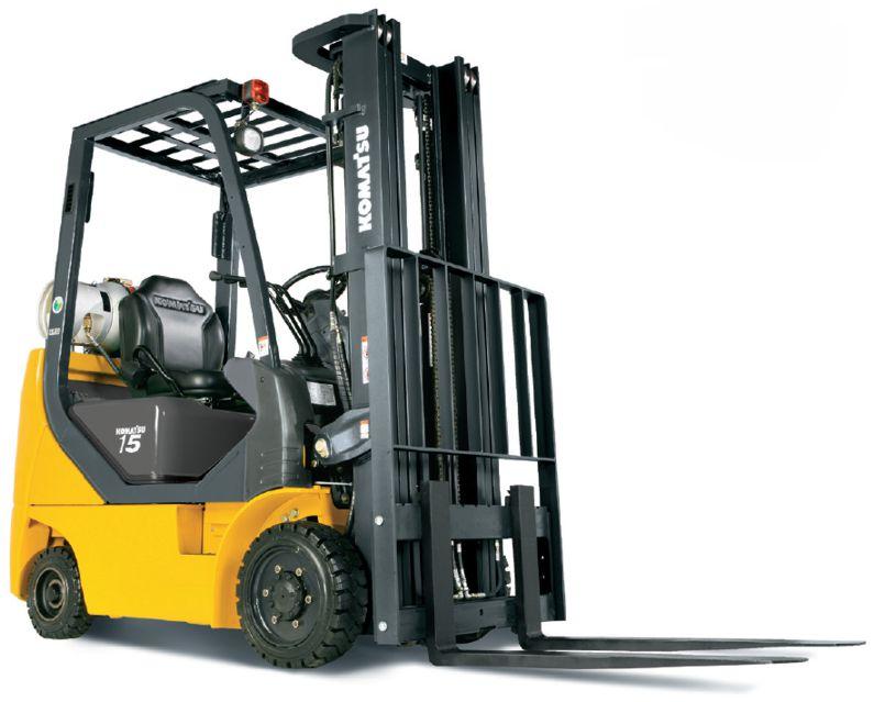 Komatsu AX50 Series IC CUSHION Forklift