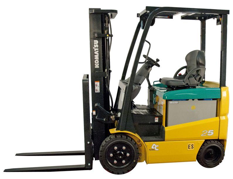 Komatsu BBX50 SeriesAC Electric Rider Forklift