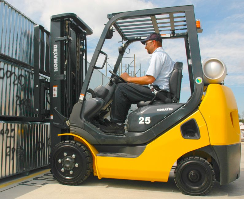 Komatsu BX50 Series IC Cushion Forklift