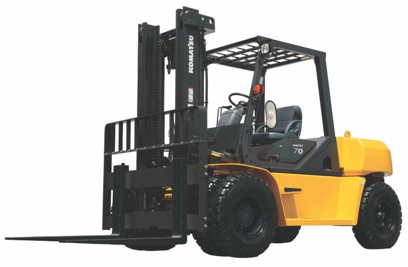 Komatsu DX50 Series IC Pneumatic Forklift