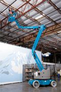 genie articulating boom electric and bi energy