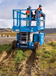 genie rough terrain scissor lift