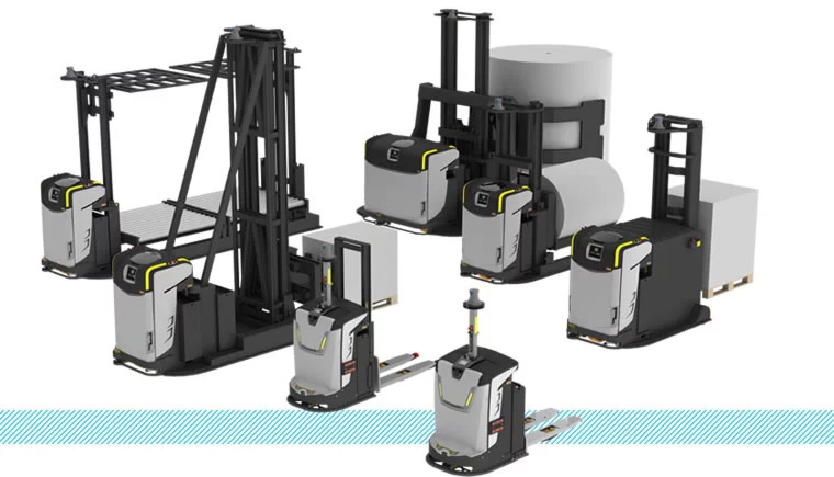 Automated Guided Vehicles - AGV -Forklifts