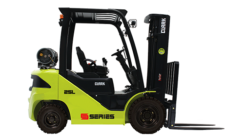 Clark Pneumatic Forklifts