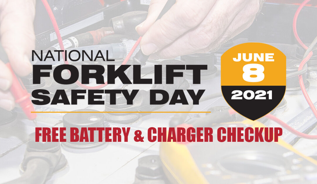 FREE BATTERY & CHARGER CHECKUP