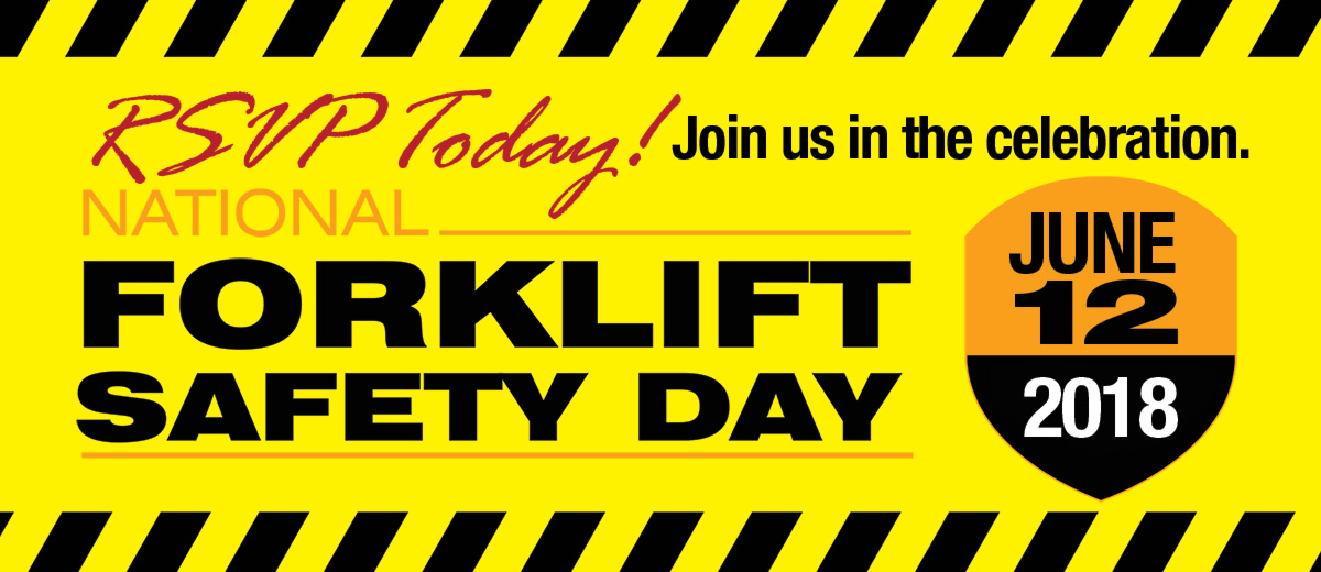 RSVP - Mid Atlantic Open House for 2018 National Forklift Safety Day