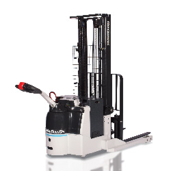 WSX Electric Walkie Straddle Stacker