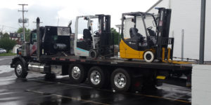 Forklift rental benefits - pros and cons