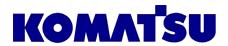 Komatsu Forklifts Logo