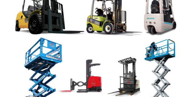 types of material handling equipment