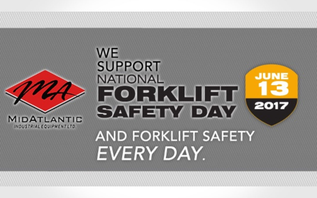 Safety Facts and Tips for National Forklift Safety Day