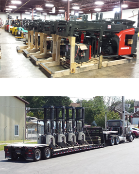 new and used forklifts material handling equipment York pa