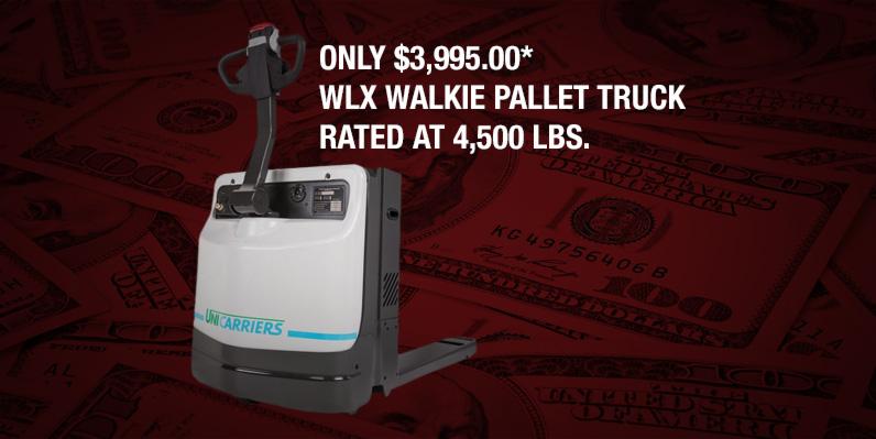WLX Walkie Pallet Truck